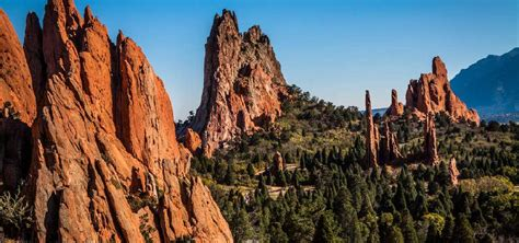 Garden Of The Gods Images by West Paul Antiques