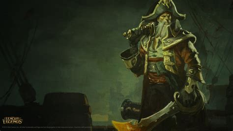Gangplank Animated Wallpaper - grafiki i tapety z bilgewater