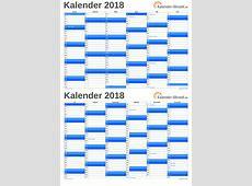 KALENDER 2018 ZUM AUSDRUCKEN KOSTENLOS