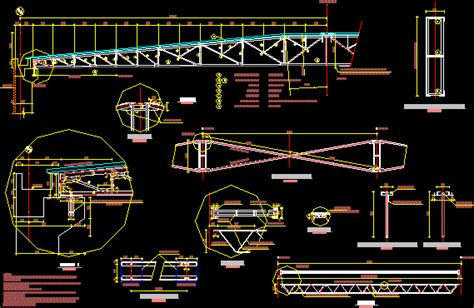 truss  meters dwg detail  autocad designs cad