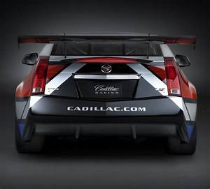 The rear end of the 2011 Cadillac CTS-V Coupe race car