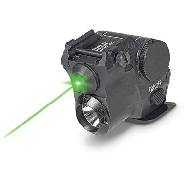 pistol light laser firefield compact green pistol laser light combo 670634