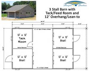 Barn Shed Plans 12x12 by This 3 Stall Modular Barn Has 3 Roomy 12x12 Stalls A