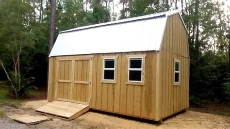 Free Shed Blueprints 12x20 by 12x20 Barn Gambrel Shed 1 Shed Plans Stout Sheds Llc
