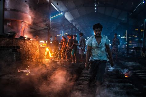 Inside Of A Cast Iron Foundry - Photo Series By Bidipto ...