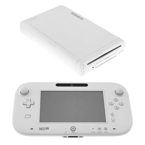 Nintendo Wii Console by Nintendo Wii U 8gb White Console Pre Owned The Gamesmen