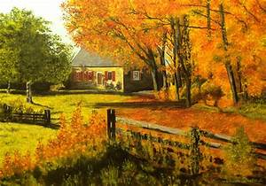 Maison à La Campagne : automne la campagne paysages ~ Melissatoandfro.com Idées de Décoration