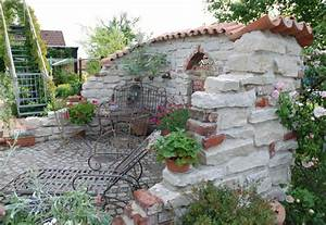 Mauer Im Garten : deko mauer im garten die sch nsten einrichtungsideen ~ Michelbontemps.com Haus und Dekorationen