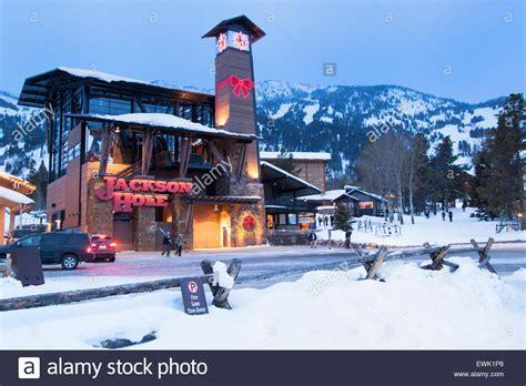 Christmas In Jackson Hole Wyoming Stock Photo 84626368