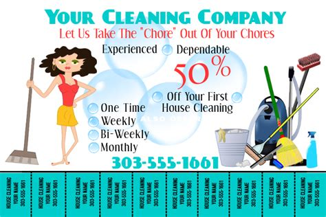 home cleaning flyers postermywall