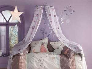 Cerceau Pour Ciel De Lit : decoration lit petite fille ~ Melissatoandfro.com Idées de Décoration