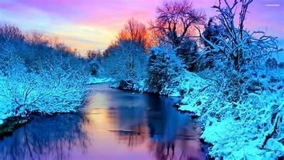 Winter Scenic Background Desktop Resolution Wallpapers Backgrounds