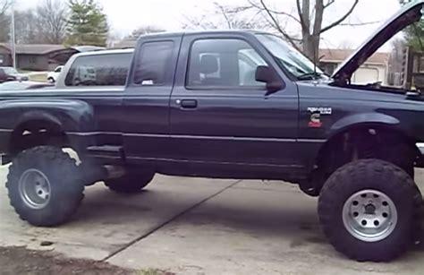 4bt cummins ranger you have to see this cummins diesel ford ranger on super