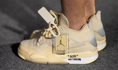 Off White™ X Air Jordan 4 How And Where To Buy Today