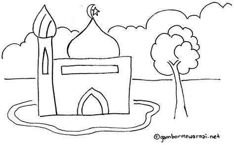 coloring and drawing mewarnai islami