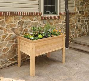 Elevated, Garden, Planter, Boxes