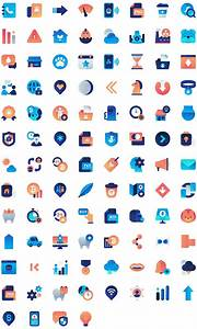 100 Free Vector Flat Gradient Icons Set On Round Icons Website