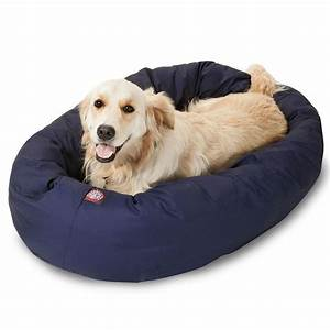 majestic pet blue bagel bed petco With dog bed store