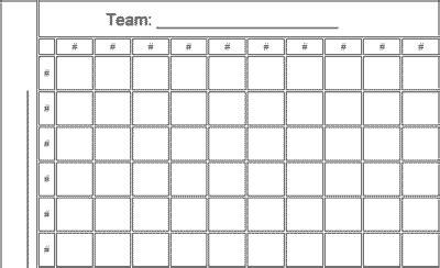 squares nfl football pool printable template