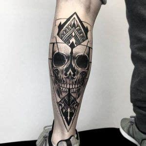 tatuajes  hombre en la pierna  ideas