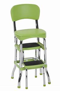 Cosco, Stylaire, Retro, Chair, Step, Stool, With, Sliding, Steps, Multiple, Colors