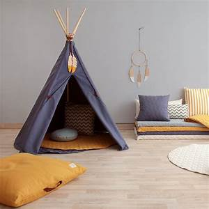 Tipi Pour Chambre : chambre enfant le tipi la nouvelle cabane adopter marie claire ~ Teatrodelosmanantiales.com Idées de Décoration