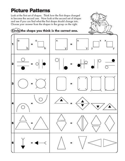 math analogies worksheets  images math worksheet