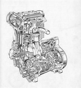 Bsa Fury 350 Dohc Engine Drawing