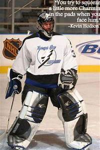 Inspirational H... Funny Hockey Goalie Quotes