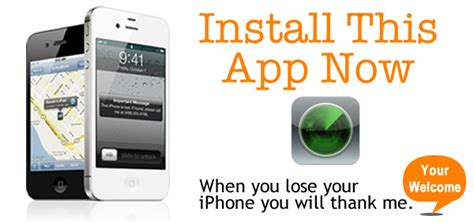 find iphone app never lose your iphone again with the find my iphone app