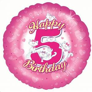 Happy 5th Birthday Quotes For Girls. QuotesGram