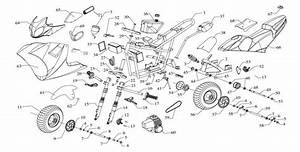X18 Super Pocket Bike Wiring Diagram