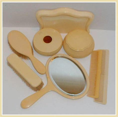 celluloid vanity dresser set vintage celluloid vanity dresser set 8 grooming set