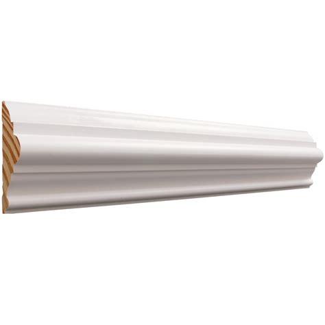 Shop Evertrue 3in X 8ft Primed Moulding At Lowescom