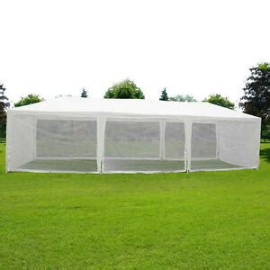 quictent  party wedding tent canopy gazebo screen house  mesh sidewall