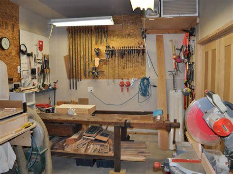 dennis garage workshop  wood whisperer