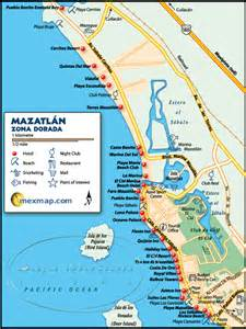 Mazatlan Mexico Map