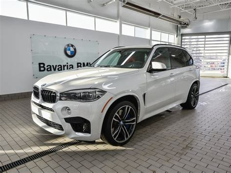 New Bmw X5 M by New 2018 Bmw X5 M Suv In Edmonton 18x53266 Bavaria Bmw