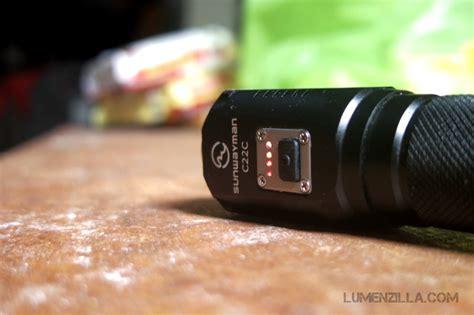 low voltage indicator light sunwayman c22c dual led flashlight review