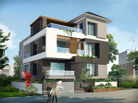 Bungalow Architecture Mandi  3d Power