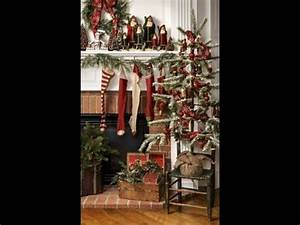 Prim Christmas Primitive Decorating & Craft Ideas Tour How
