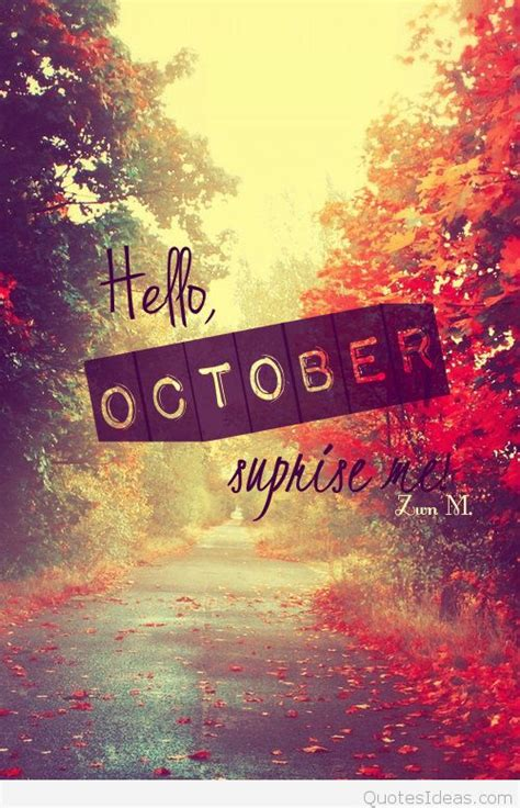 october quotes  sayings