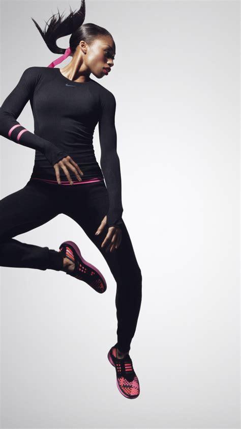 wallpaper allyson felix nike weight loss running women