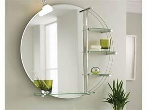 miroir pour salle de bain toutes nos meilleures idees deco With salle de bain design avec miroir de salle de bain castorama
