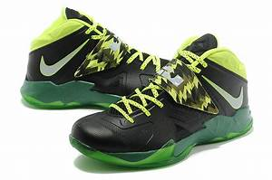 Lebron Nike Zoom Soldier VII(7) Black-Gorge Green-Neon For ...