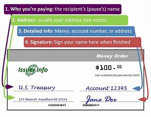 How To Fill Out A Money Order To Send Money Safely