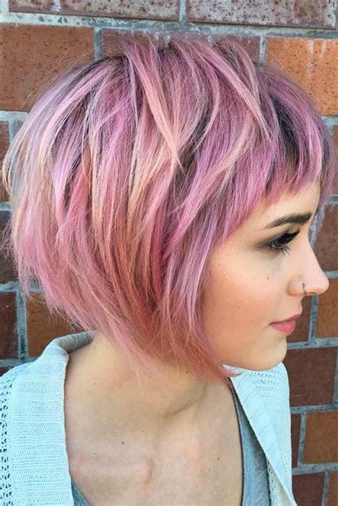 short layered haircuts ideas  pinterest