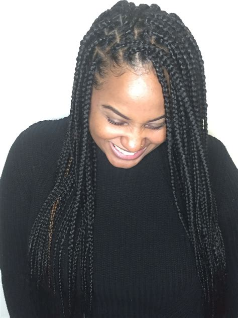 These quick and simple braid styles will elevate your entire look! Top 20 Knotless Box Braids Hairstyles | Hairdo Hairstyle