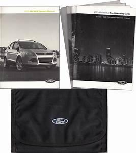 2013 Ford Escape Owner U0026 39 S Manual Original