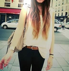 Comment Faire Un Tie And Dye : ma pause glamour le tie and dye ombr hair ~ Melissatoandfro.com Idées de Décoration